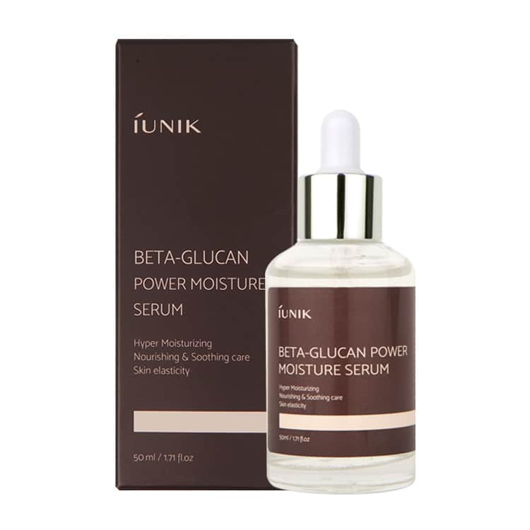 Tinh chất iUNIK Beta Glucan Power Moisture Serum 50ml