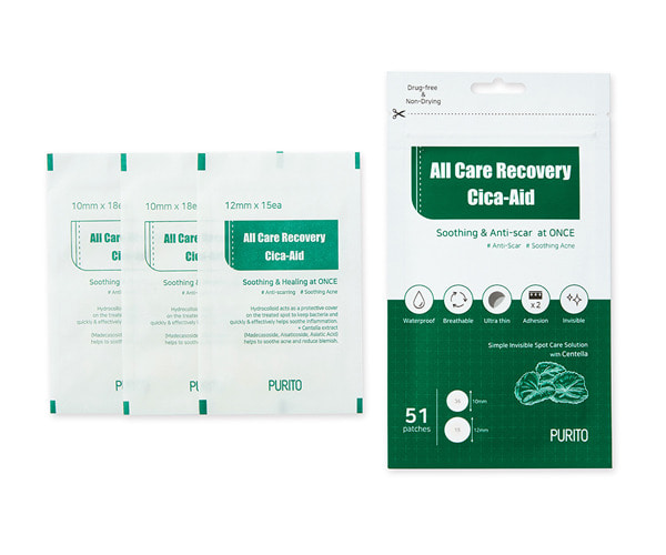 PURITO All Care Recovery Cica-Aid