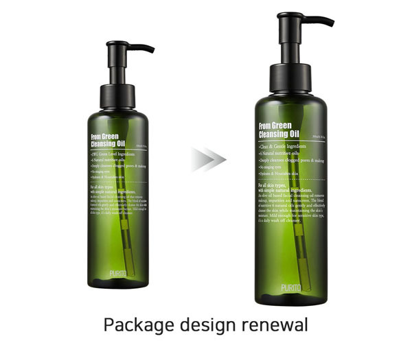 Dầu Tẩy Trang PURITO From Green Cleansing Oil 200ml